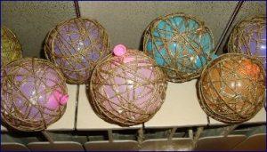 palline di filo