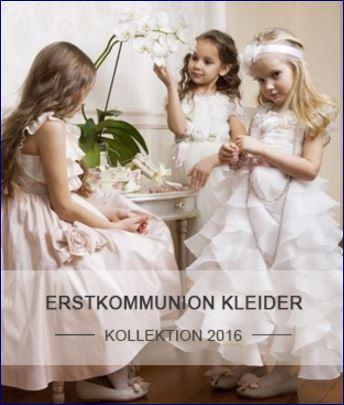 Kommunionkleider 2016 kollektion- abiti comunione 2016