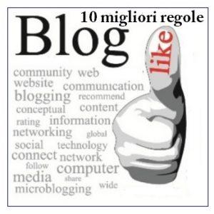 blog e regole