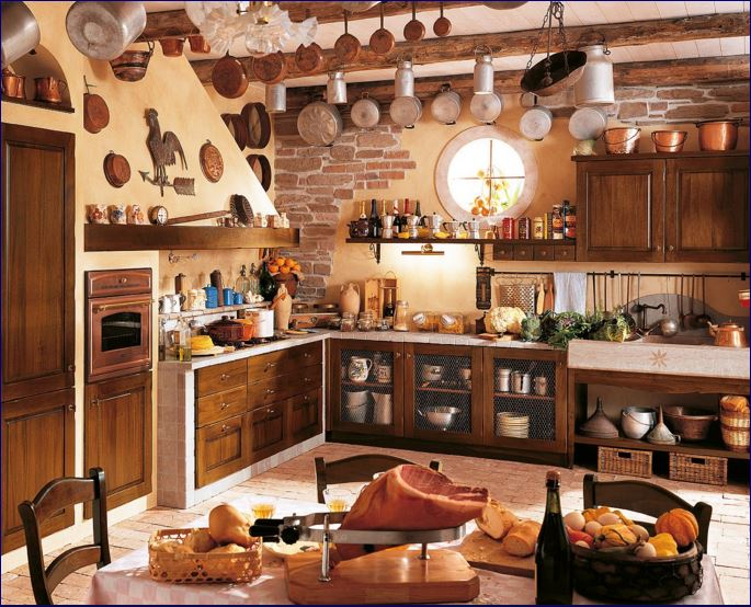 Accessori Cucina Country