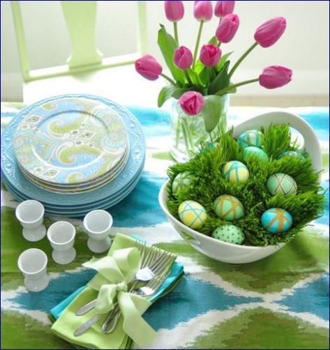 5 idee di pasqua veloci e facili per decorare tavola e - Idee per decorare le uova di pasqua ...