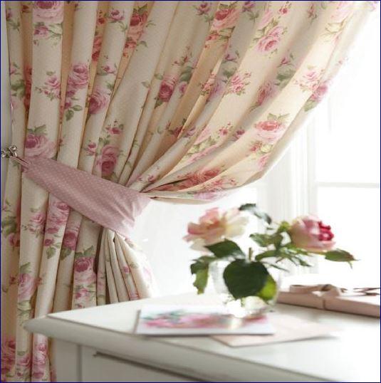 Tessili floreali stile Provenza Shabby Chic