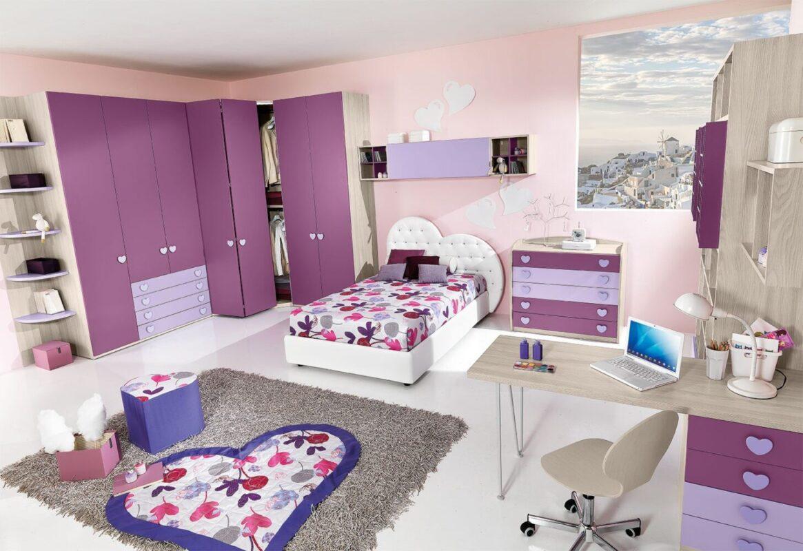 5 camerette giessegi pratiche funzionali e belle - Camere da letto bellissime ...