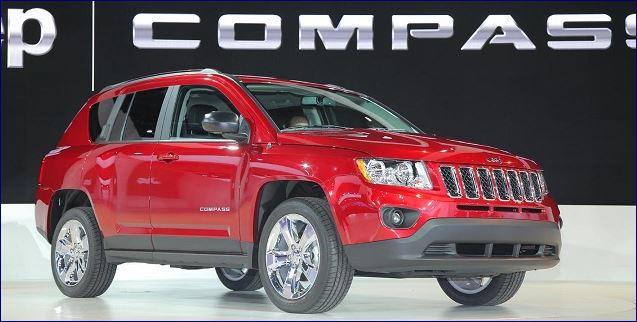 jeep cpmpass suv 2017