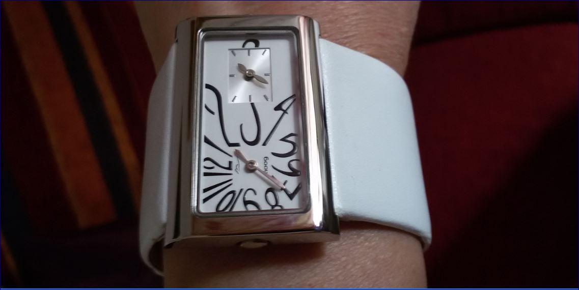 orologio da polso bianco paris Moog
