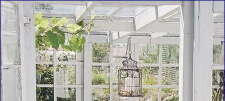 Idee in vetrina shabby chic per arredare una veranda o un terrazzo
