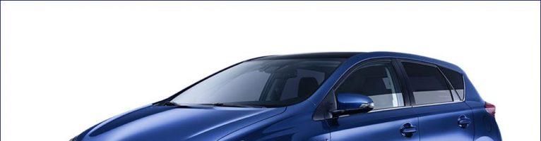 Hybrid Auris Toyota l'auto perfetta: promozione 2016