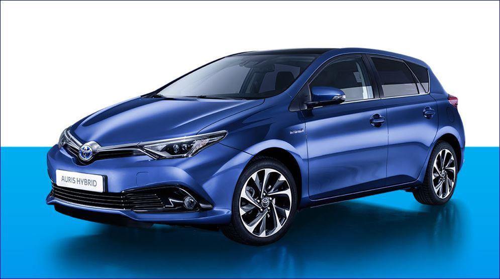 Auris Hybrid Toyota promozione 2016