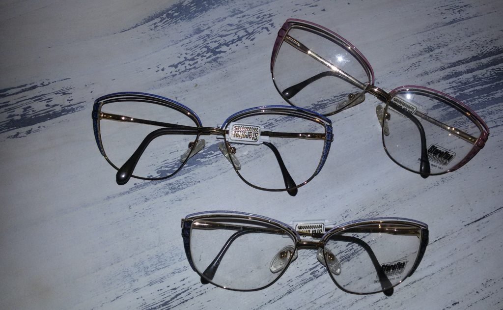 occhiali da vista donna sferoflex vintage occasione