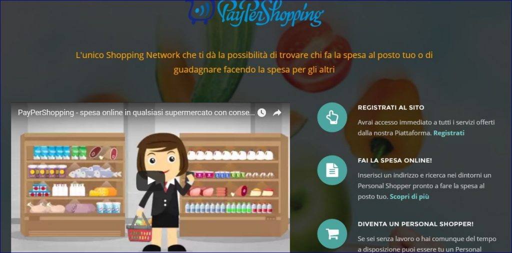 PeyPerShopping.com spesa online