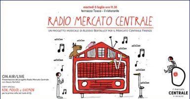 Musica live e sperimentazione on air: Firenze Mercato di San Lorenzo