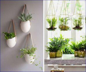 Soluzioni salvaspazio utilizzando vasi e fioriere in balconi e ...