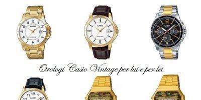 Orologi Casio Vintage con stile