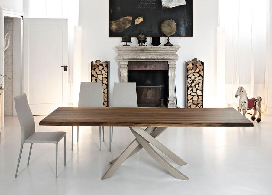 Tavolo artistico allungabile