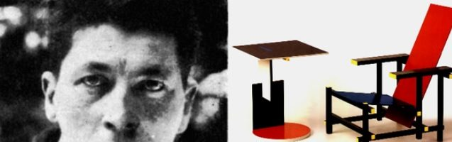 Gerrit Rietveld e Benoit Liénart: design geometrico e plasticismo