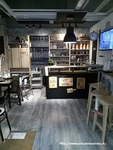 Cucina shabby chic industrial