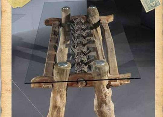 Arredare con mobili naturali di design nature design for Mobili di designer