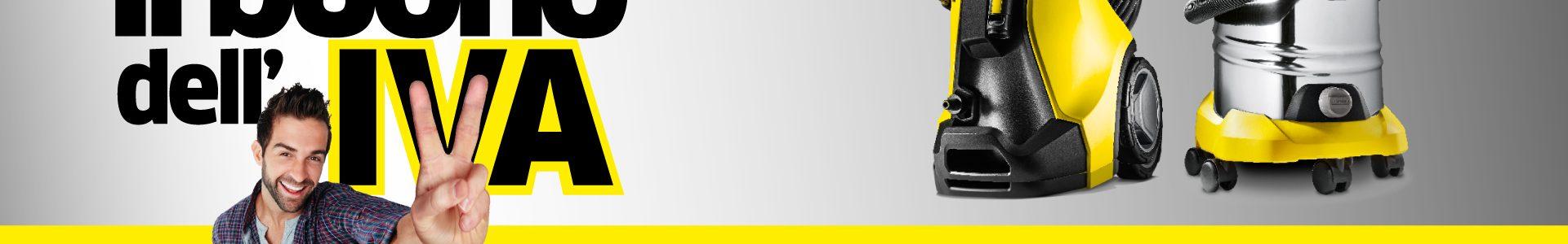 Kärcher  promo ti rimborsa IVA con coupon