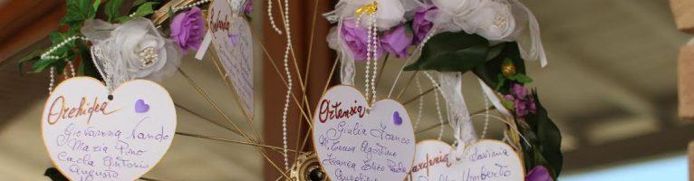 Matrimonio shabby chic idee per etichette tavoli