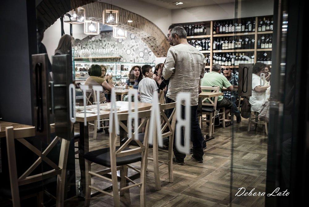 Ristorante enoteca stile bistrot Zero Baratto a Monterotondo