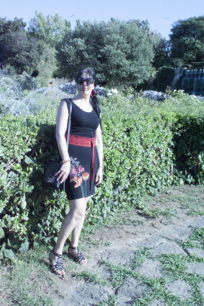 Outfit Desigual Eur parco delle fontane