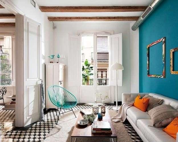 Rinnovare casa con il colore