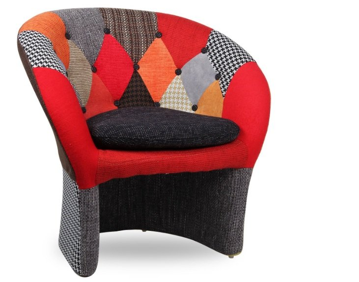 The Name Poltrona in patchwork