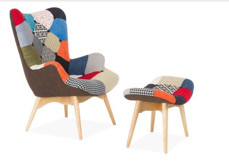 Poltrone di design colorate patchwork e allegria in casa - Notizie ...