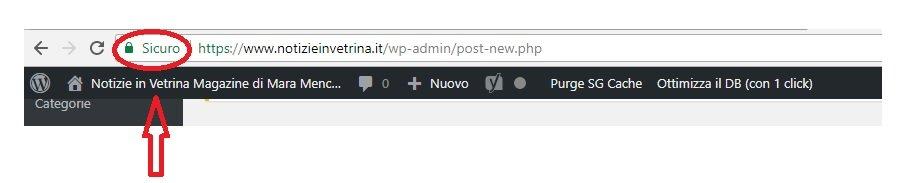 Come recuperare like e condivisioni con cambio http in https