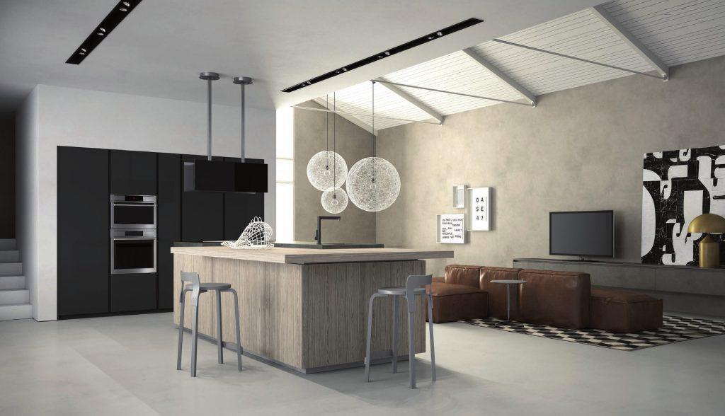 Cucine con isola le soluzioni possibili eleganti e funzionali notizie in vetrina - Cucine eleganti moderne ...