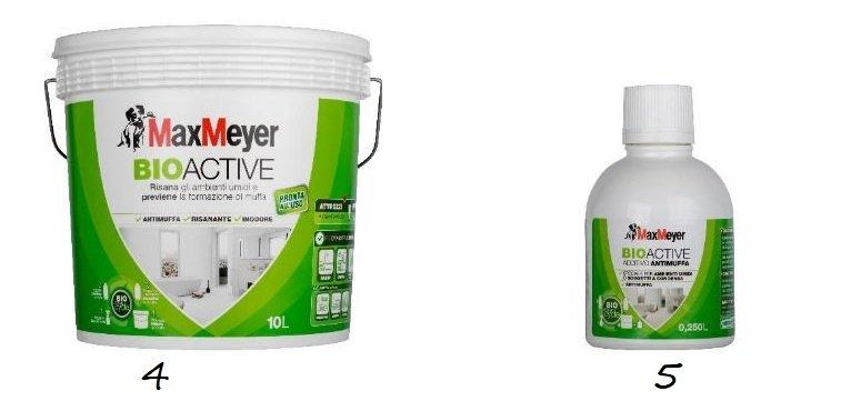 Antimuffa bioactive maxmeyer ciclo completo elimina muffa for Antimuffa per pareti