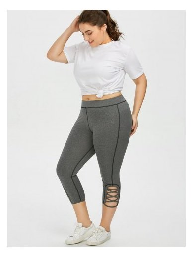 Sport and free time: plus size workout clothes