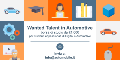 Wanted Talent in Automotive, borsa di studio per appassionati di automobili e innovazione