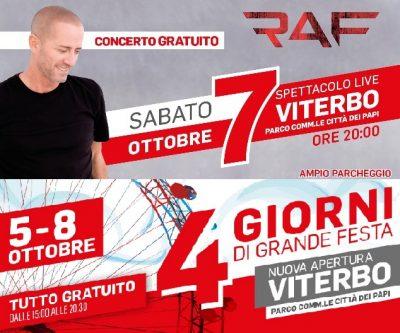 Mondo Convenienza apre a Viterbo concerto gratuito di  Raf
