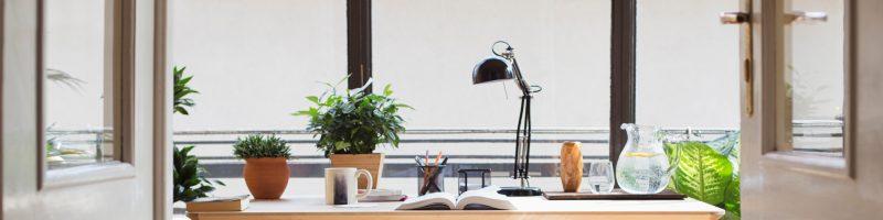 Come creare un angolo studio ufficio in casa o soggiorno