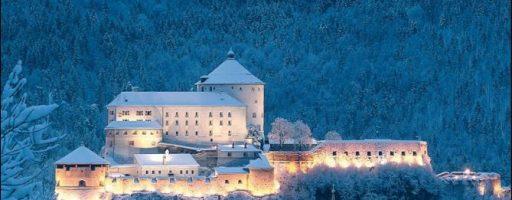 Austria a Natale  il mercatino nella fortezza di Kufstein