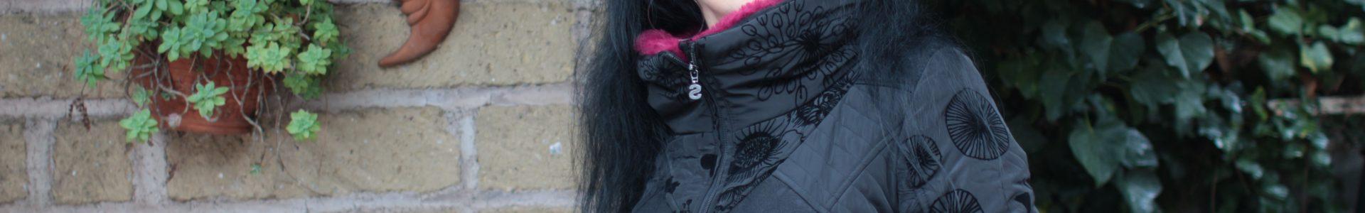 Cappotto Desigual e outfit total black
