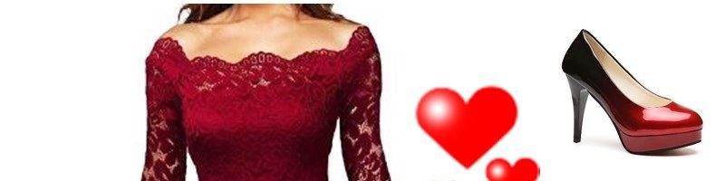 Acquisti pazzi per San Valentino outfit and love su Gamiss