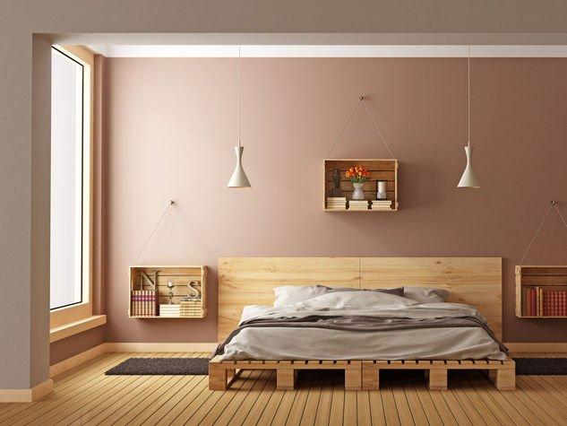 Idee per arredare con i pallet riciclo creativo dei for Aggiunta camera da letto separata