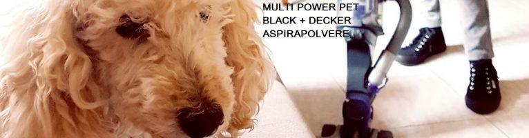Pulizie di primavera con l'aspirapolvere senza filo MultiPower Pet di Black+Decker