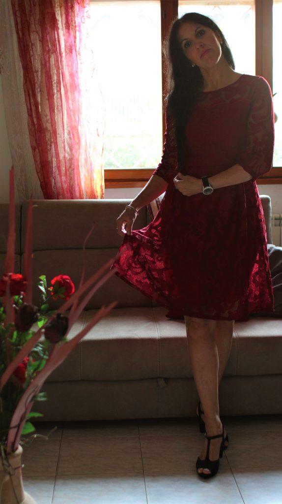 Vestito rosso Capodanno