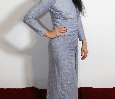 Tendenze moda argento: silver dresses, make up ed accessori