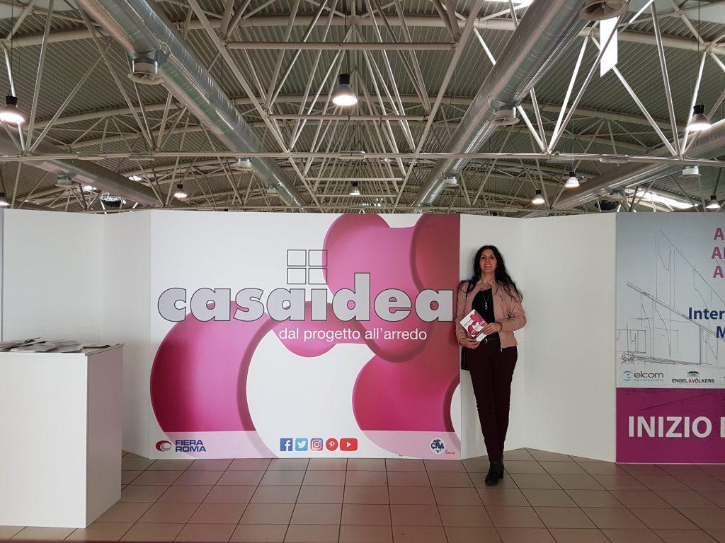 Casaidea 2019 Mara Mencarelli per Notizie in Vetrina