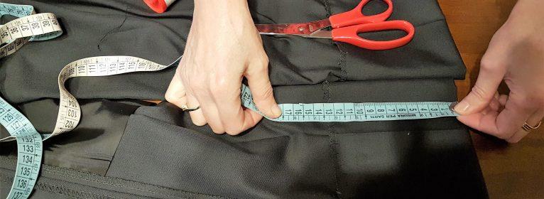 Come fare l'orlo ai pantaloni eleganti a mano