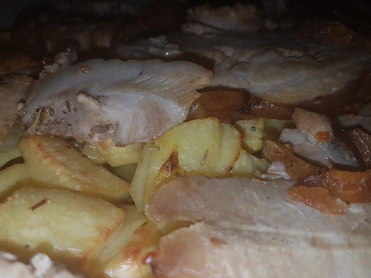porchetta al forno e patate