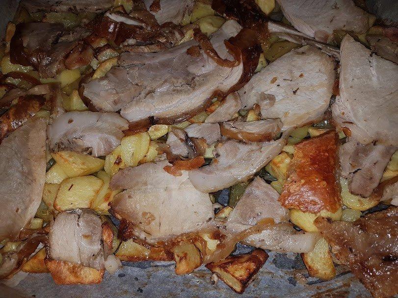 porchetta e patate al forno