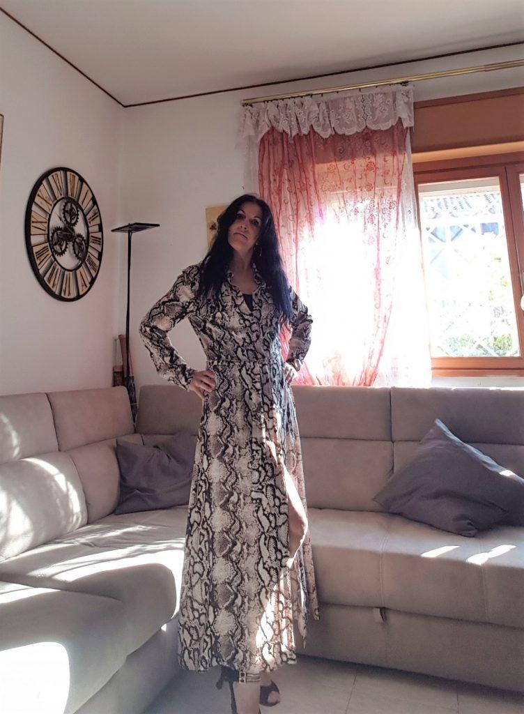 Stampe animalier e long dresses