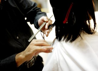 Forbici professionali capelli