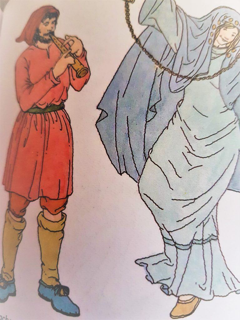 Vesti medioevali: lunghe per donne, corte per gli uomini