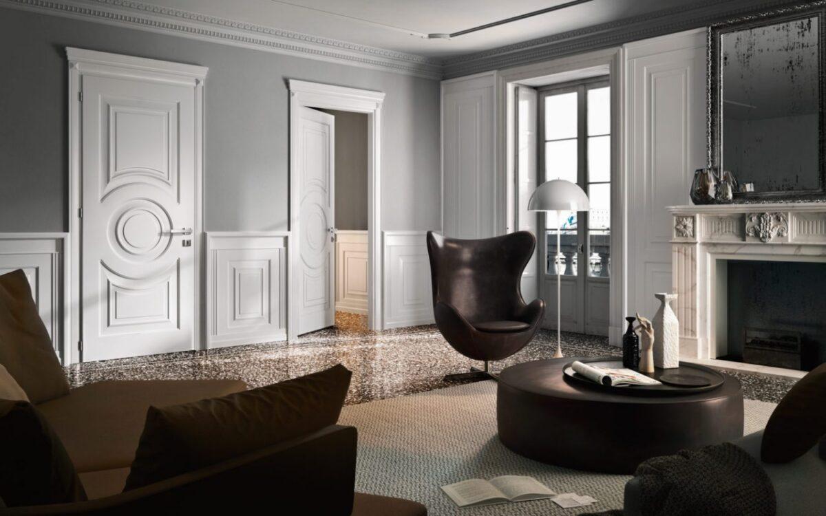 Porte Laccate Bianche Garofoli Prezzi il fascino delle porte classiche anticate - notizie in vetrina